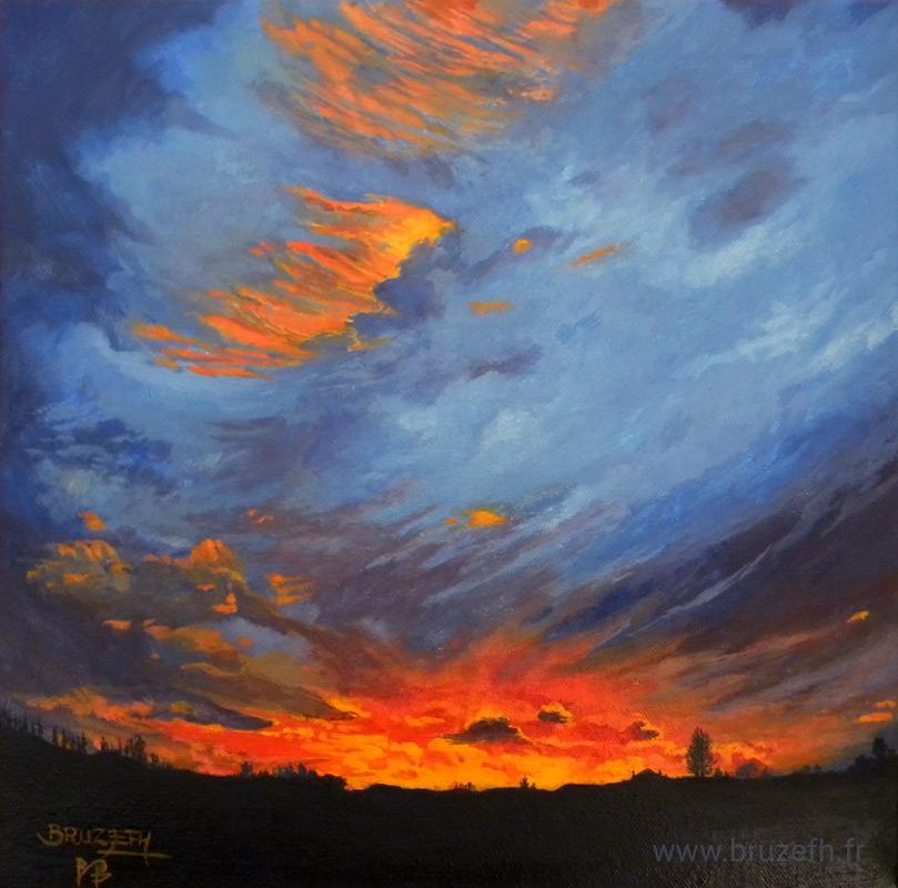 Crépuscule, par Bruzefh