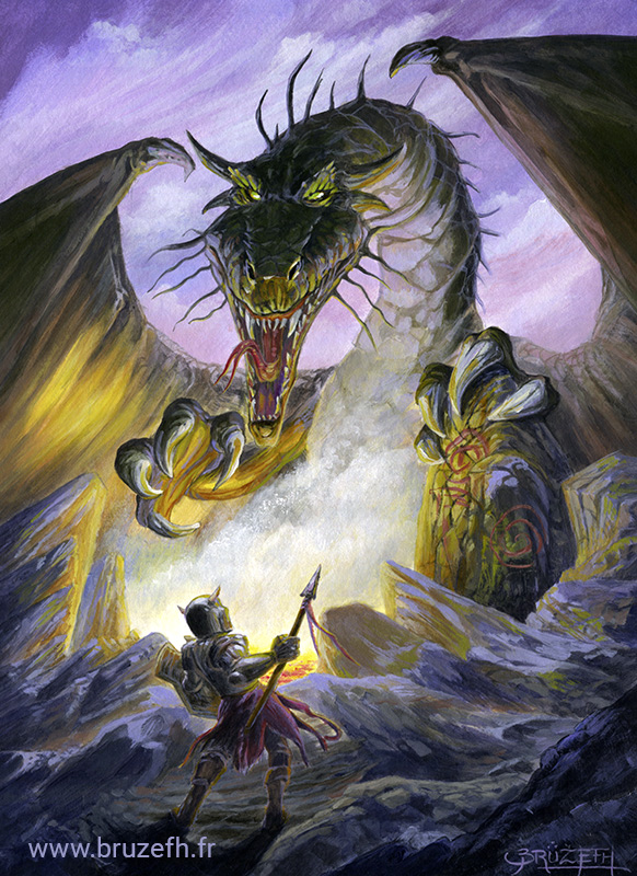 Dragon Slayer, par Bruzefh