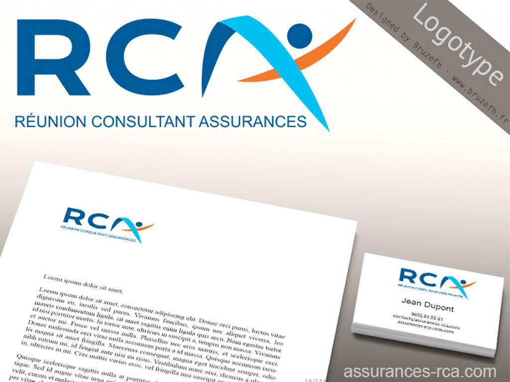 Logo RCA Assurances - par Bruzefh