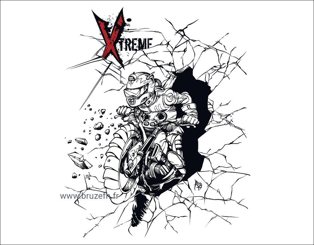 Motocross Xtreme, par Bruzefh