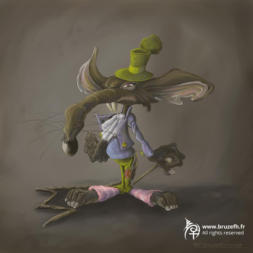 Rat, par Bruzefh