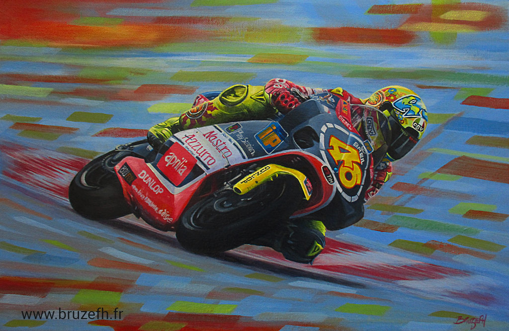 Valentino Rossi, Apilia RSV250 1999