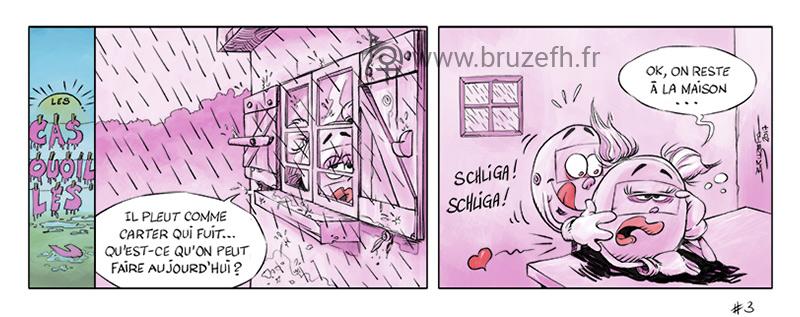 Les Casquouilles n° 3, par Bruzefh