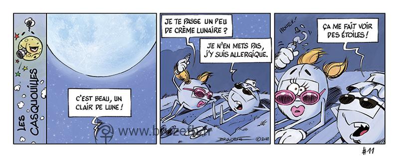 Les Casquouilles n°11, par Bruzefh