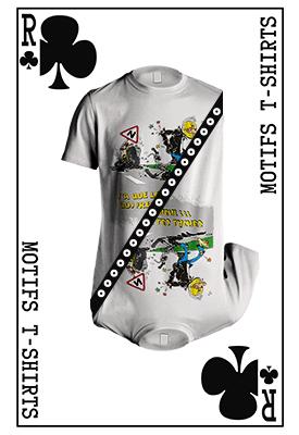 Motifs t-shirts et objets