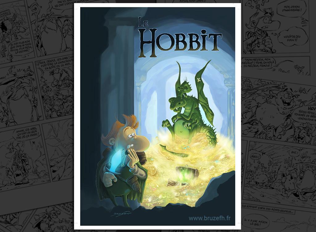 Le Hobbit, par Bruzefh