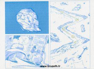 Mutatio - Colorisation de la planche de bande dessinée
