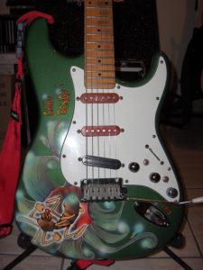 Stratocaster Chiko Dengo, résultat final