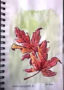 Croquis automne 3, Bruzefh